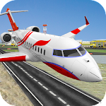 City Airplane Pilot Flight 3d Icon