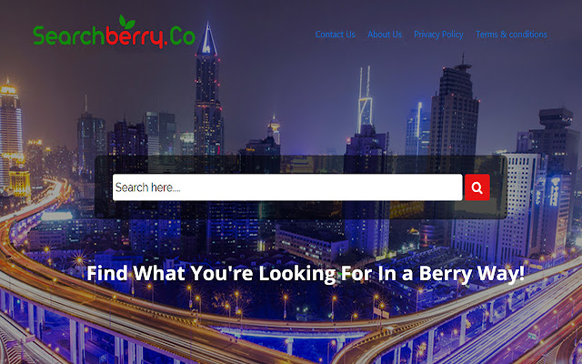 Searchberry Home Page