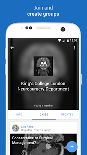 MedShr: Discuss Clinical Cases- screenshot thumbnail