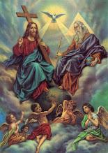 Photo: Пресвята Трійця. Бог має три особи: Бог-Отець, Бог-Син і Бог Дух Святий «Три свідчать на небі: Отець, Слово і Святий Дух, і ці Три - єдине»(1 Ів. 5:7)  Молитва до Пресвятої Тройці  Пресвята Тройце, помилуй нас; Господи, очисти гріхи наші; Владико, прости беззаконня наші; Святий, зглянься і зціли немочі наші, імені Твого ради. Господи, помилуй (тричі).  Слава Отцю, і Сину, і Святому Духові, нині, і повсякчас, і на віки віків. Амінь.  http://uk.wikipedia.org/wiki/Трійця http://uk.wikipedia.org/wiki/День_Святої_Трійці