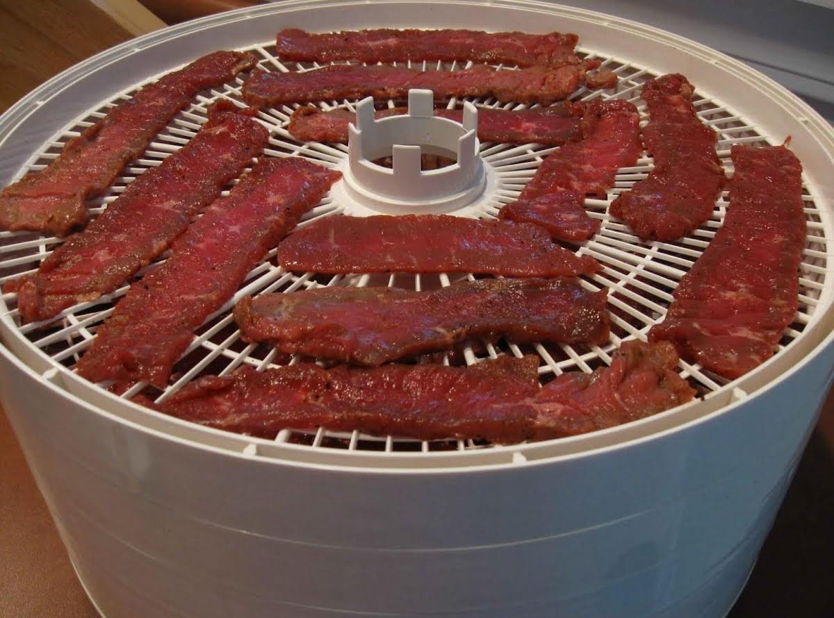 Dehydrator Easy Pressed Beef Jerky Just A Pinch Recipes