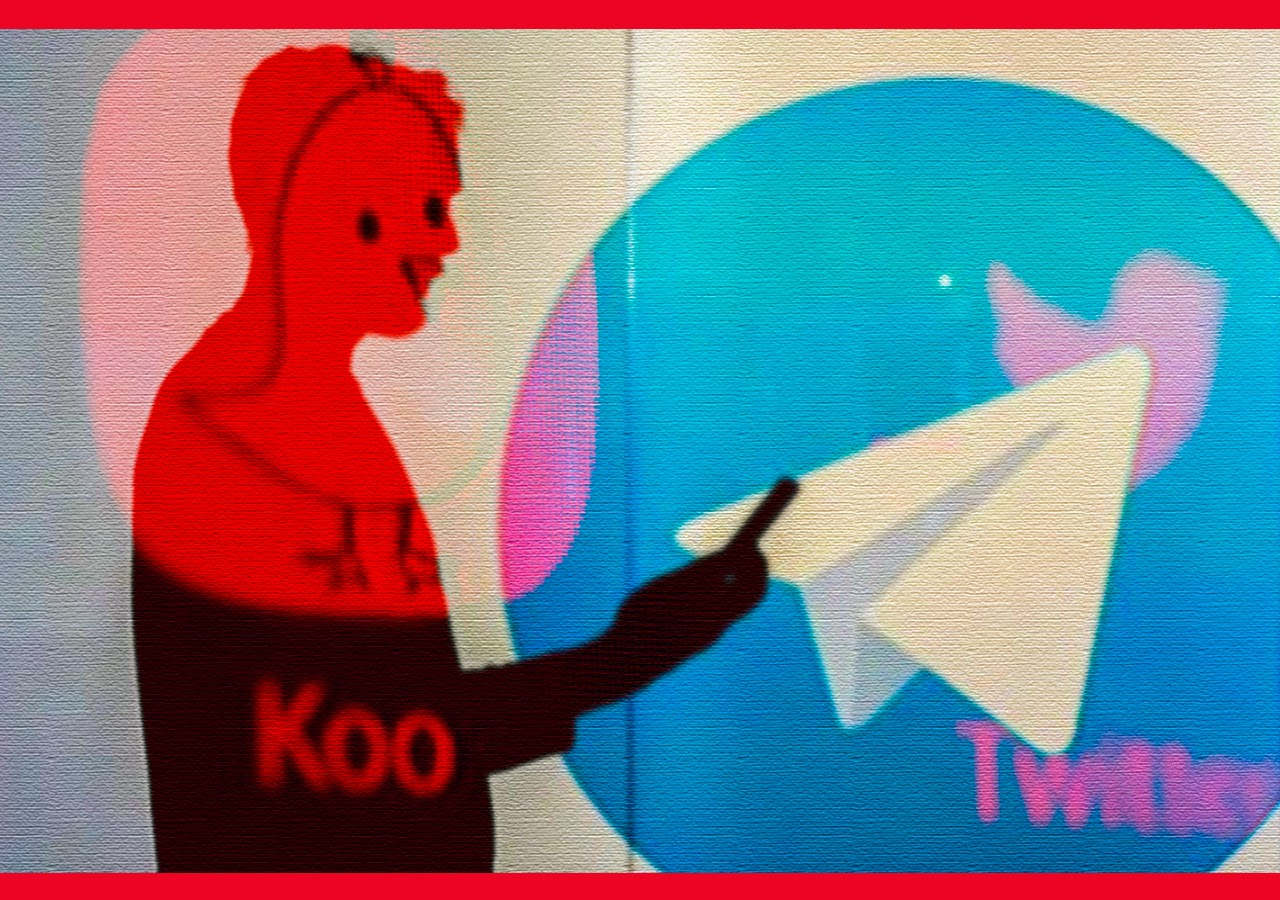 Indian Apps Koo and Sandes Compete With Twitter and WhatsApp, Telegram Reaps Rewards