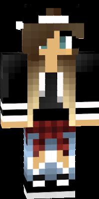Cool Girl Nova Skin - Skins fur minecraft madchen