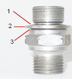 принцип работы композитного уплотнительного кольца метрического USIT-M