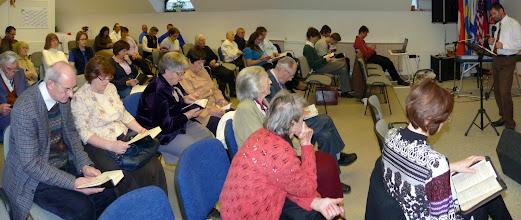 Photo: gyülekezetünk 2011. november 20-án, istentiszteleten