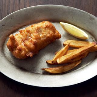 IPA-Battered Fish & Chips via Food52.