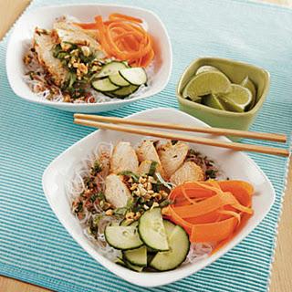 Thai Chicken Noodle Bowls.
