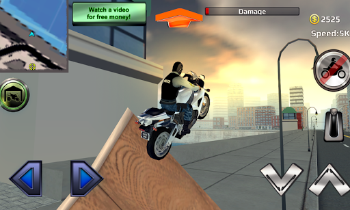 Police Motorcycle Crime Sim screenshot 6
