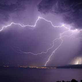 lightning by Ante Buric - Landscapes Weather