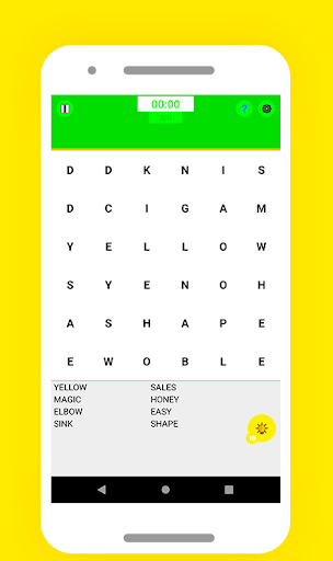 Word Search Puzzle - Free Fun Game android2mod screenshots 3