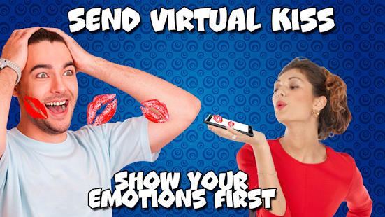 Send virtual kiss - náhled