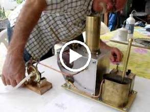 Video: Essai de la chaudière avec une turbine de marque WADA
