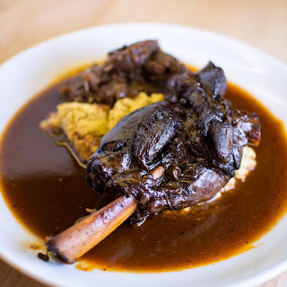 Cabernet-Chipotle Braised Lamb