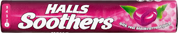 Halls Soothers Lozenges - Blackcurrant, 45g