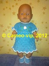 Photo: №Б9. 150грн. Платье и топики на Baby Born 43 cм