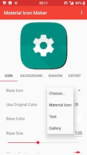 Material Icon Maker 2.0.6 Mod + Data for Android 2