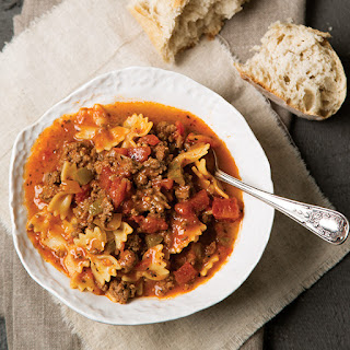 Paula Deen Vegetable Soup With Ground Beef Recipes.