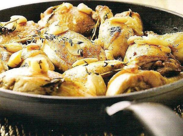 Gilroy's Finest Saucy Garlic Chicken Recipe