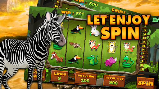 African Animal Safari Slots