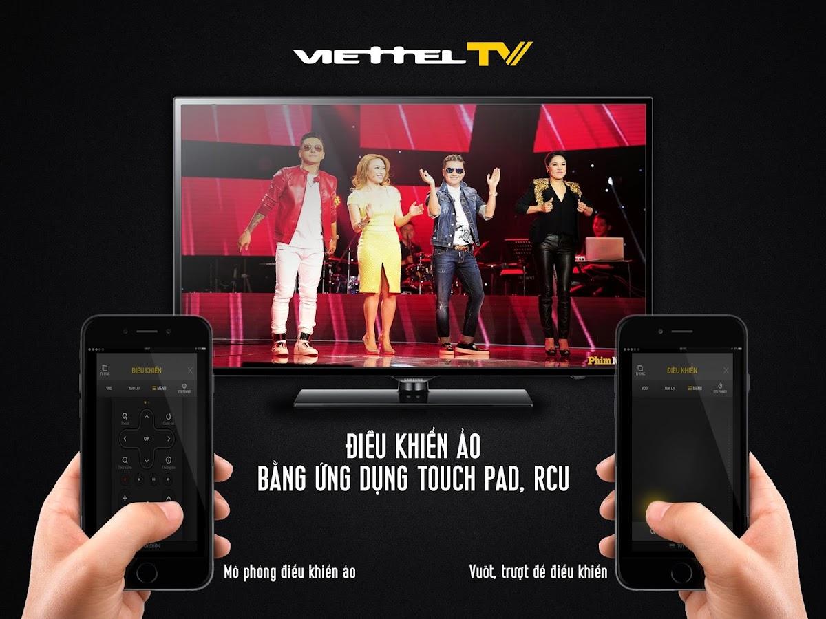 Screenshots of ViettelTV for iPhone