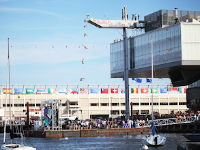 Photo: Red Bull Cliff Diving Boston 2012 composite