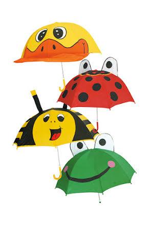 Barnparaply, djur