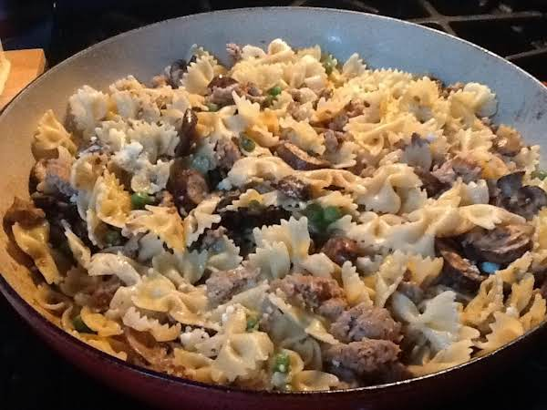 Farfalle With Turkey Sausage Recipe