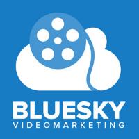 bluesky video marketing logo