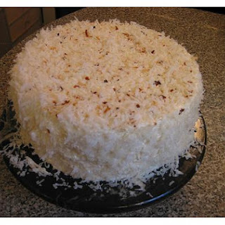 Layered Coconut Cake.