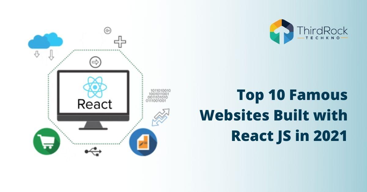 Websites built with ReactJS