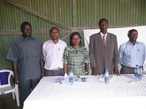 Photo: Facilitators at the Ahero SRI launch, July 2011. [Photo Courtesy of Bancy Mati]