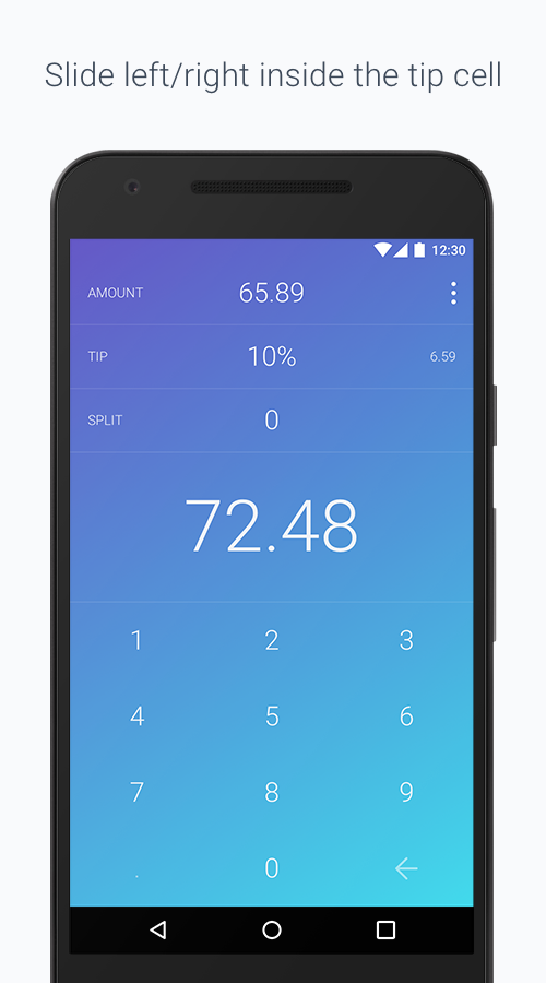 Tip Tap: Tip Calculator- screenshot