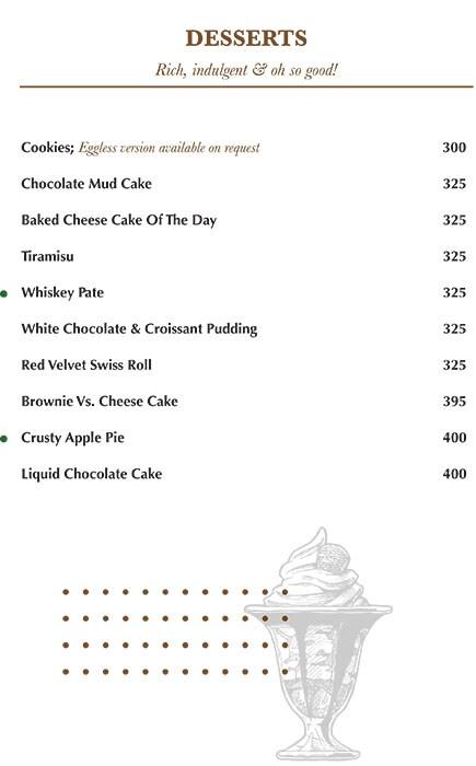 Indigo Delicatessen menu 20