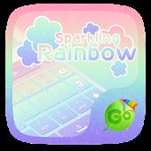 Sparkling Rainbow Keyboard
