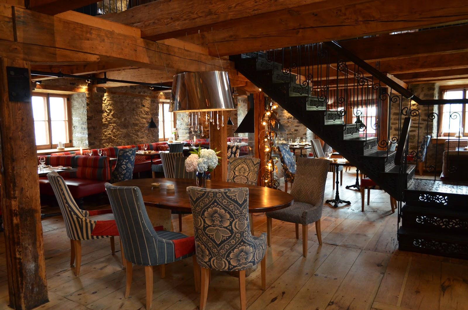 Chez Muffy, restaurante del hotel Auberge Saint-Antoine