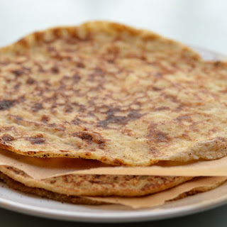 4-Ingredient Paleo Cumin Flatbread [Vegan, Gluten-Free]