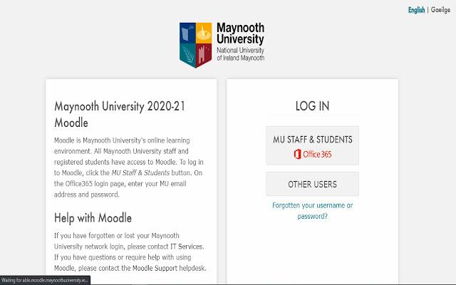 Maynooth University Moodle Login Plugin