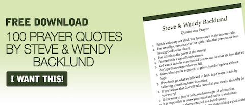 Steve and Wendy Backlund Quotes