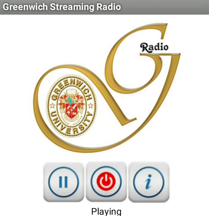 Greenwich University Radio- screenshot