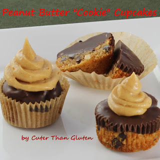 "Peanut Butter ""Cookie"" Cupcakes"