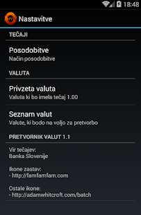 Pretvornik valut- screenshot thumbnail