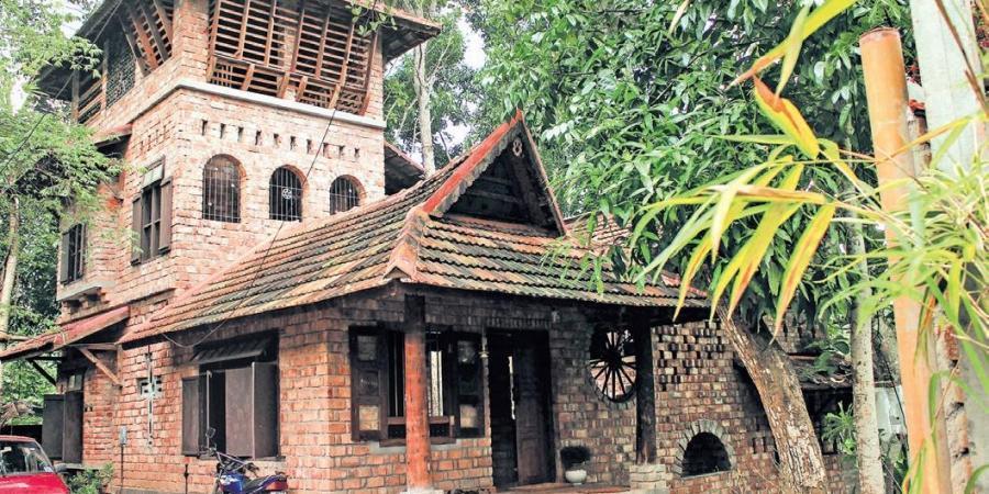 Ashams Ravi's residence I Eco-friendly state