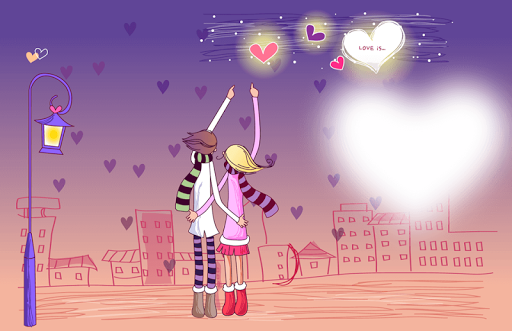 valentine wish card