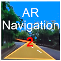 AR GPS DRIVE/WALK NAVIGATION 2 icon