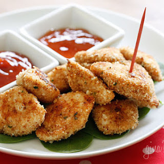 Healthy Baked Chicken Nuggets.