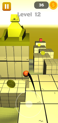 Reach The Red Cube! Obstacle Course 0.1 screenshots 2