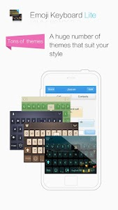 Emoji Keyboard Lite Kika Free screenshot 2