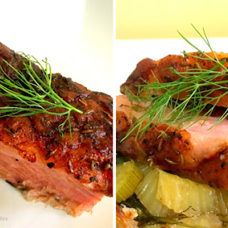 Slow-Roasted Pork with Fennel.