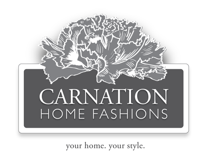 """/""""Clean Home/"""" Liner in White Carnation Home Jumbo Long"""