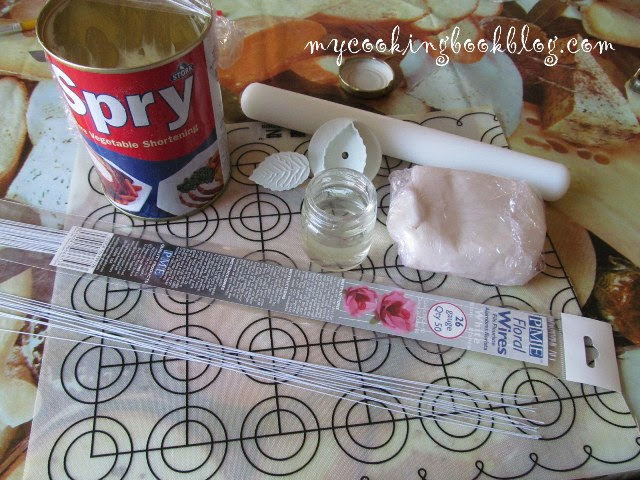 Как се правят божури (peony) от захарно тесто